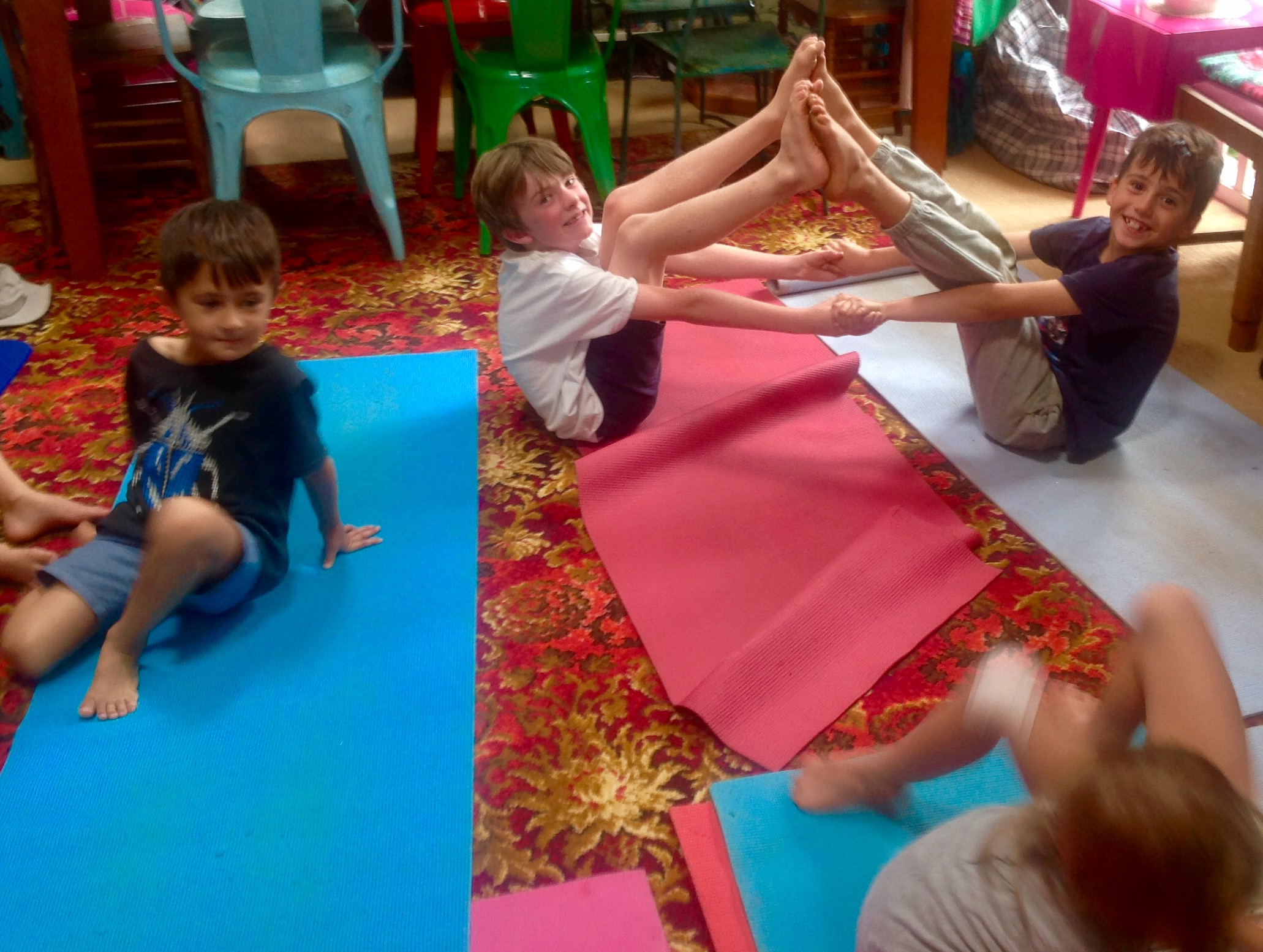 Yoga-A path to Happy,Healthy Mindful Children